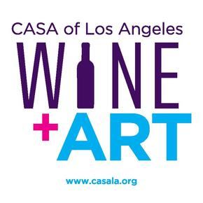 Wine Art Logo with Website